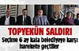 MHP'lilerden belediyeye sert eleştiriler