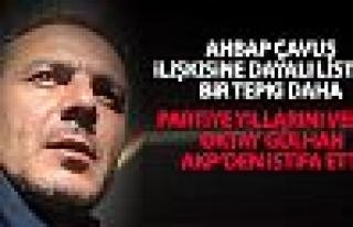 Oktay Gülhan AKP'den istifa etti