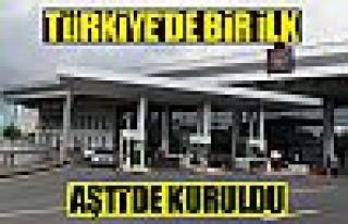 TÜRKİYE'de bir ilk: AŞTİ'ye ''otopark elektronik...