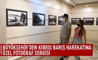 Büyükşehir'den Kıbrıs Barış Harekatı'na özel sergi