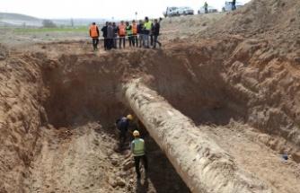 Polatlı'nın kangrene dönen su sorunu çözülüyor