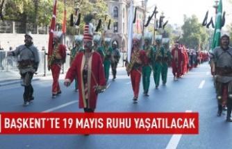 Ankara'da 19 Mayıs ruhu yaşatılacak