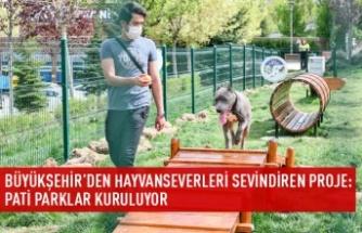 Ankara'da pati parkları kuruluyor