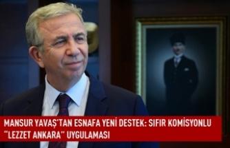 """Mansur  Yavaş'tan esnafa yeni destek: sıfır komisyonlu """"Lezzet Ankara"""" uygulaması"""