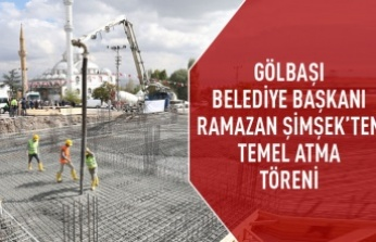 Hacılar Kültür Merkezi'nin Temel Atma Töreni Gerçekleşti
