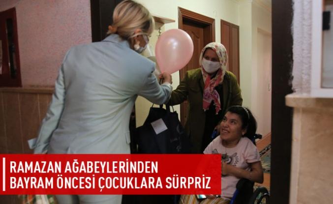 Gölbaşı Belediyesi Bayram Öncesi Çocukların Yüzünü Güldürüyor