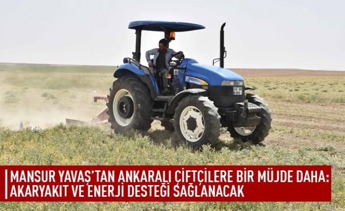 Mansur Yavaş'tan çiftçilere müjde