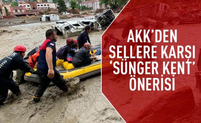 AKK'den 'Sünger Kent' önerisi