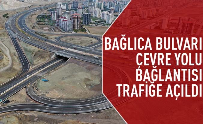 Bağlıca Bulvarı-Ankara Çevre Yolu trafiğe açıldı
