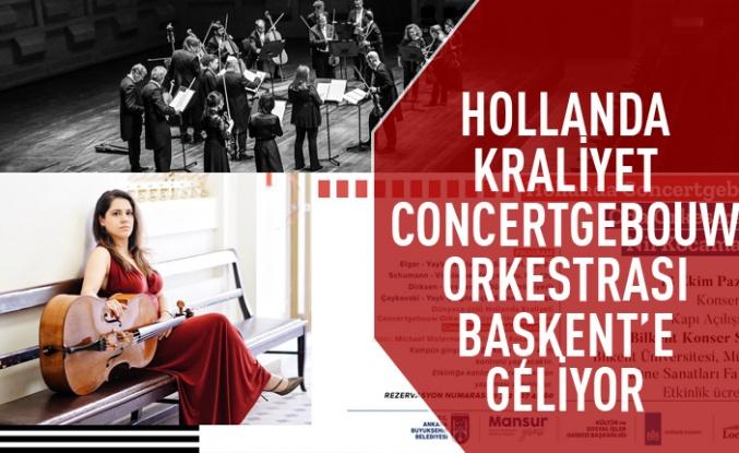 Kraliyet Concertgebouw Orkestrası Ankara'ya geliyor