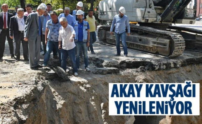Başkan Tuna Akay'daki çalışmaları inceledi