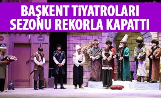 Başkent Tiyatroları sezonu kapattı