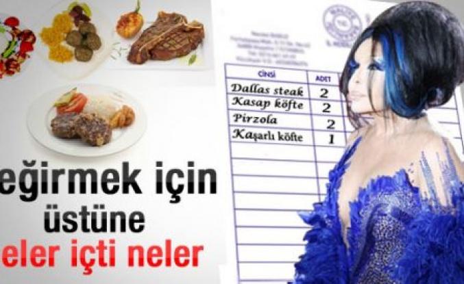 Bülent Ersoy'un et yeme rekoru
