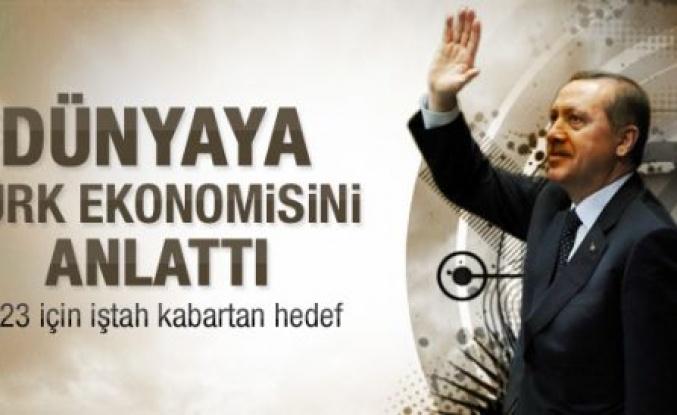 Erdoğan 2023 hedeflerini açıkladı