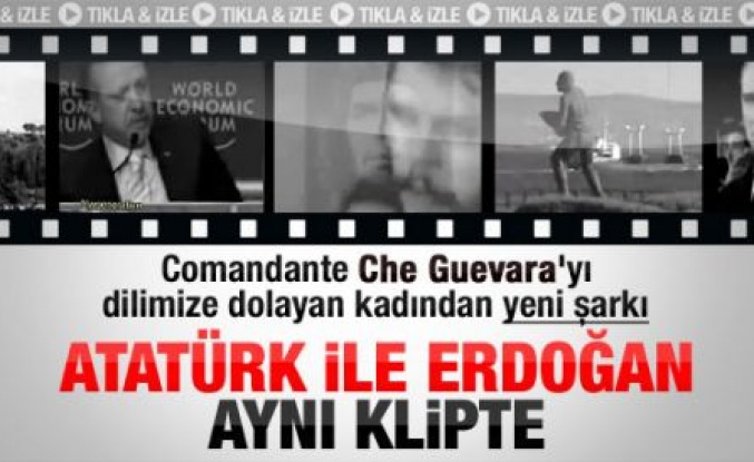 Erdoğan ve Atatürk aynı klipte - Video