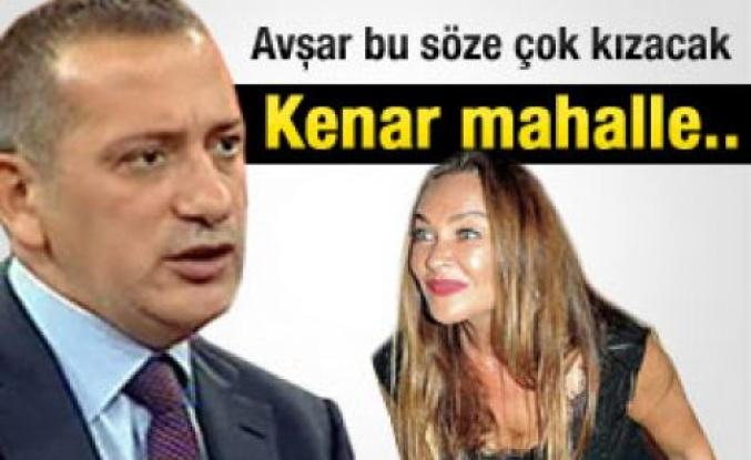 Fatih Altaylı: Hülya Avşar kenar mahalle tavrı aldı