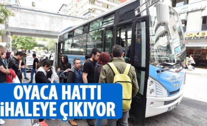 Özel halk otobüsü hatları ihaleye çıkıyor
