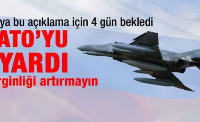 Rusya'dan NATO'ya Türk jeti uyarısı
