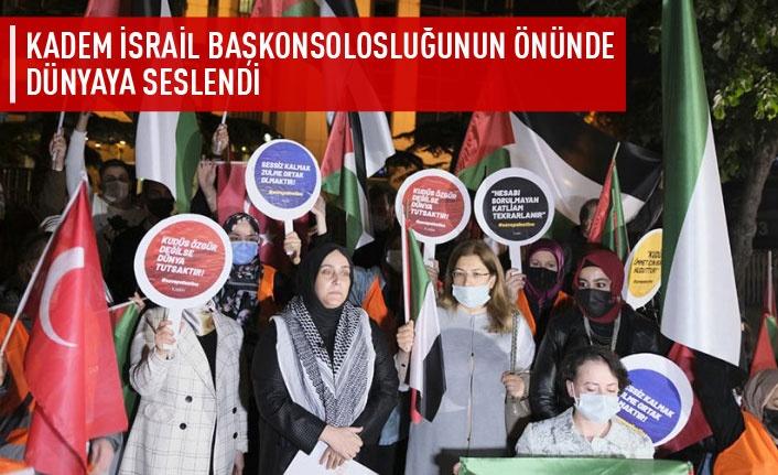 KADEM'den Filistin'e yönelik saldırılara tepki