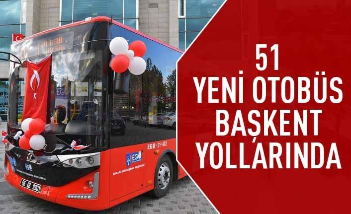 2013'ten sonra ilk kez filo yenileniyor: 51 yeni otobüs başkent yollarında